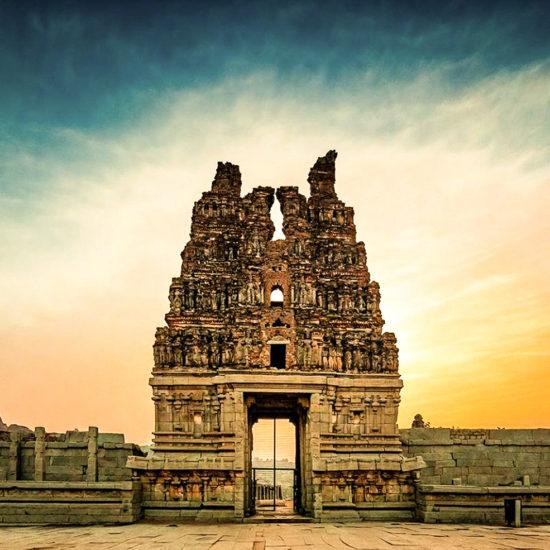 Gopuram - Vijaya Vitthala Temple - Hampi
