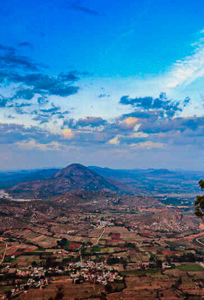 Chikkaballapur Nandi Hills View