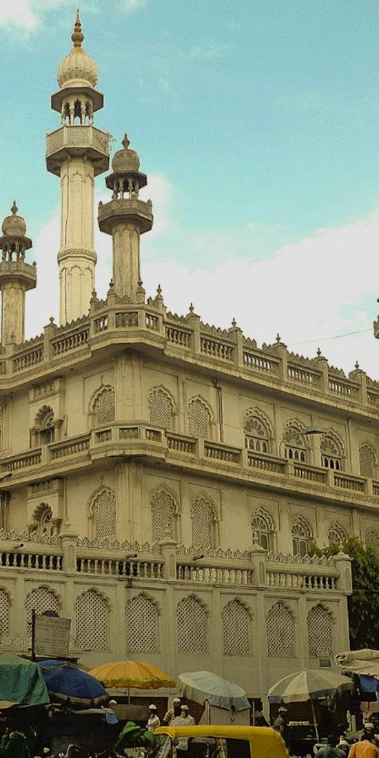 Jamia Masjid, KR Market