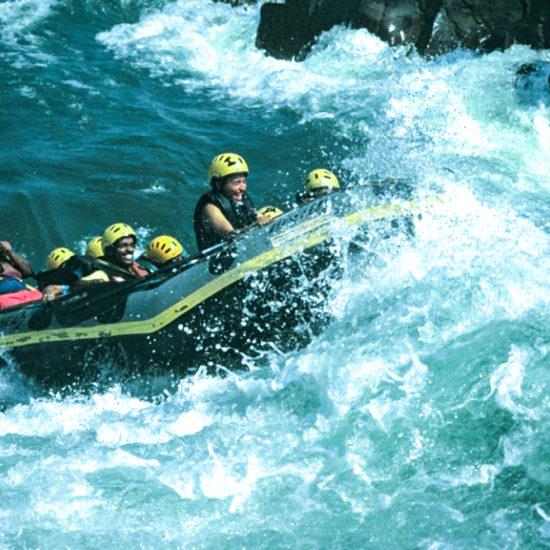 White Water Rafting on Kali River