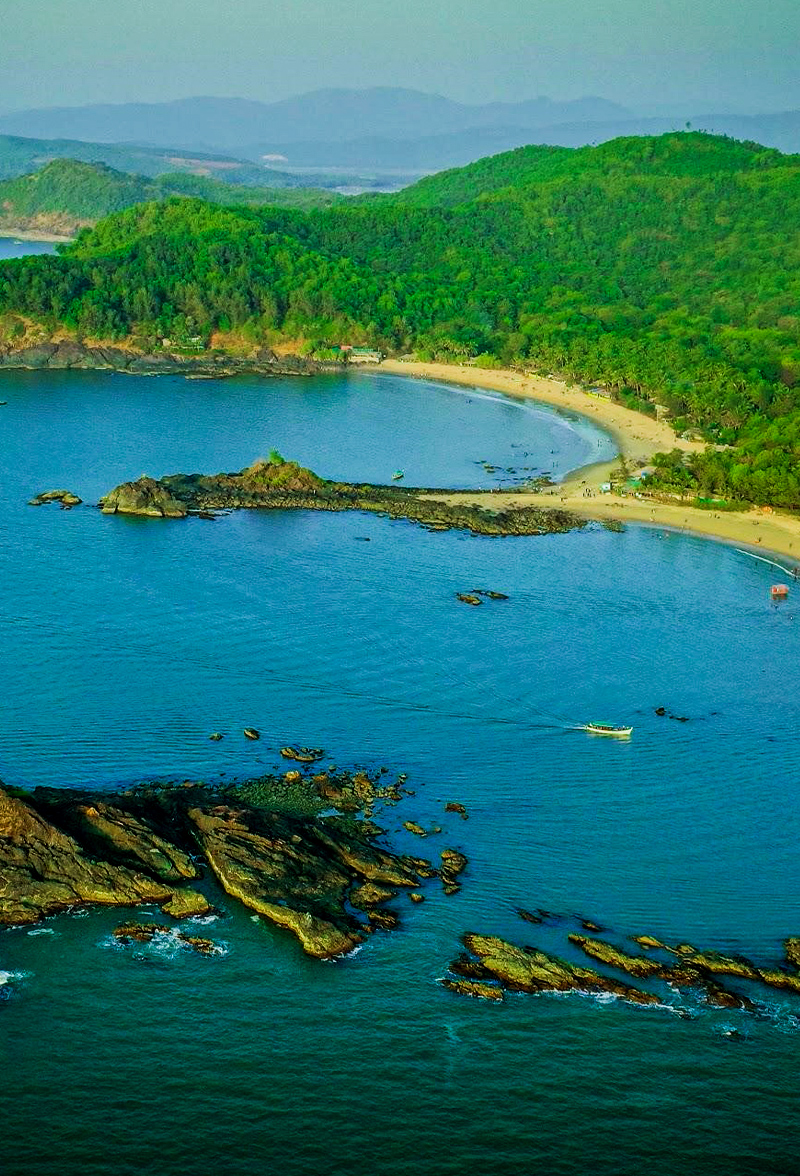 Uttara Kannada Karwar Om Beach_Gokarna
