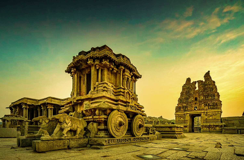 Stone Chariot Hampi- Karnataka