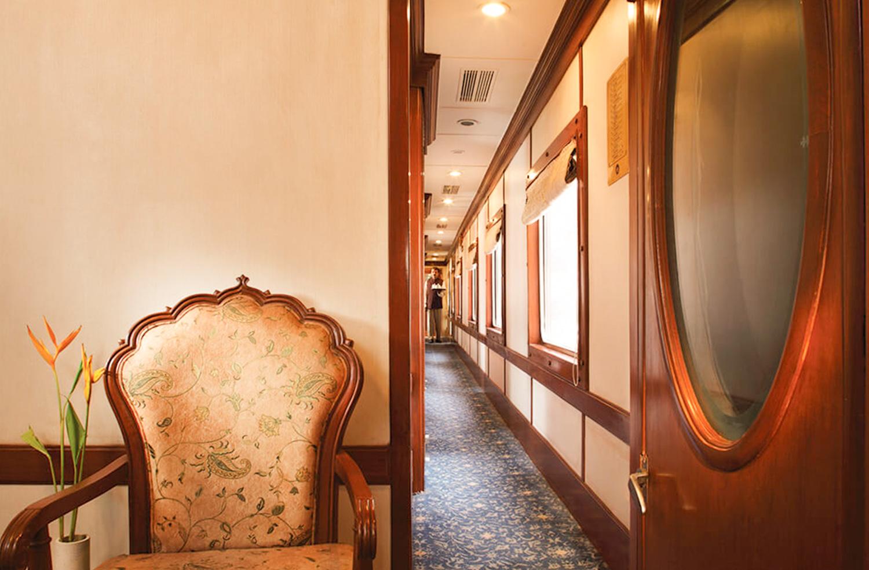 Luxury Golden Chariot Train