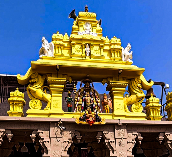 Udupi Sri Krishna Temple separator