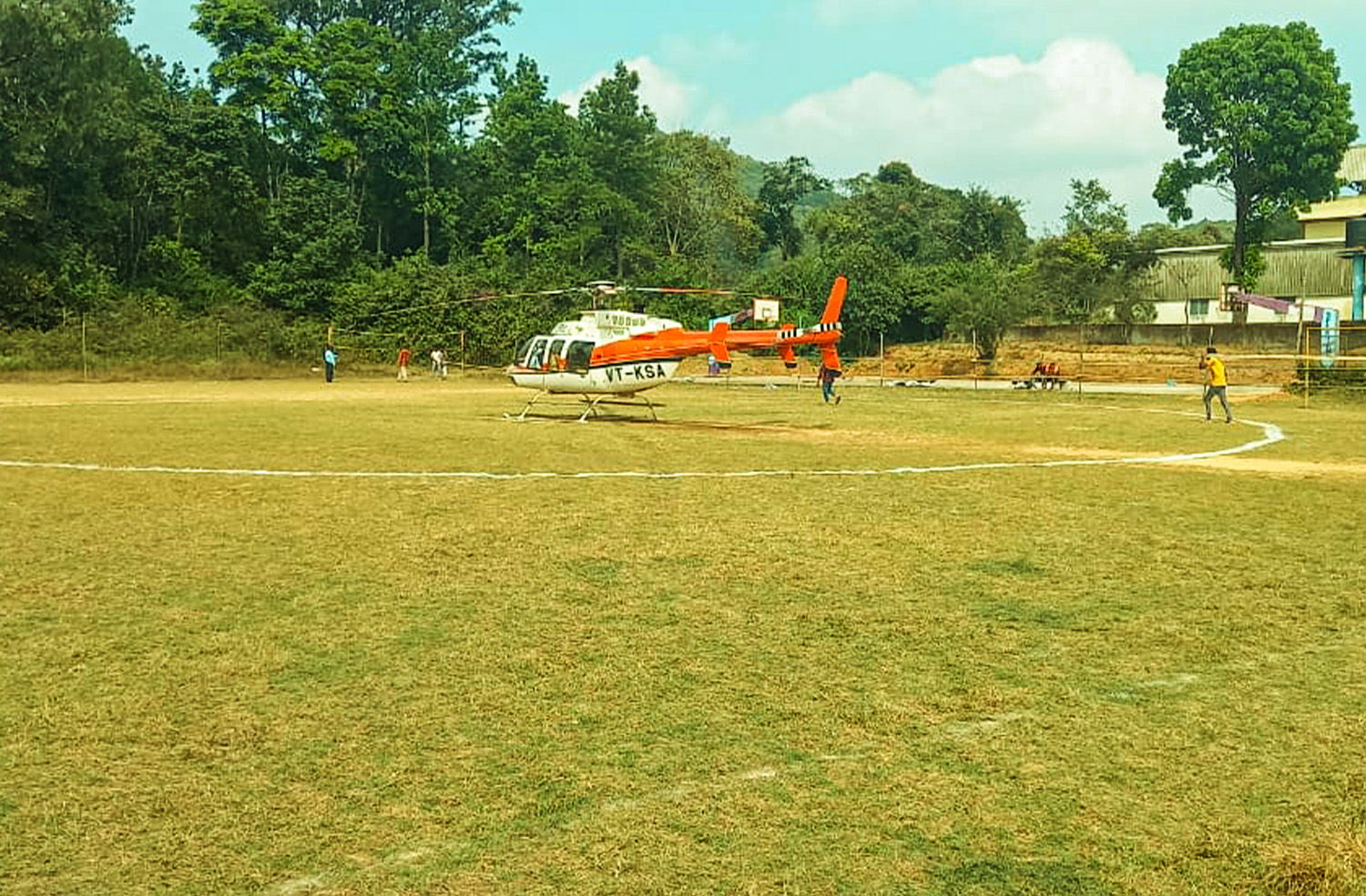 Helicopter Ride services