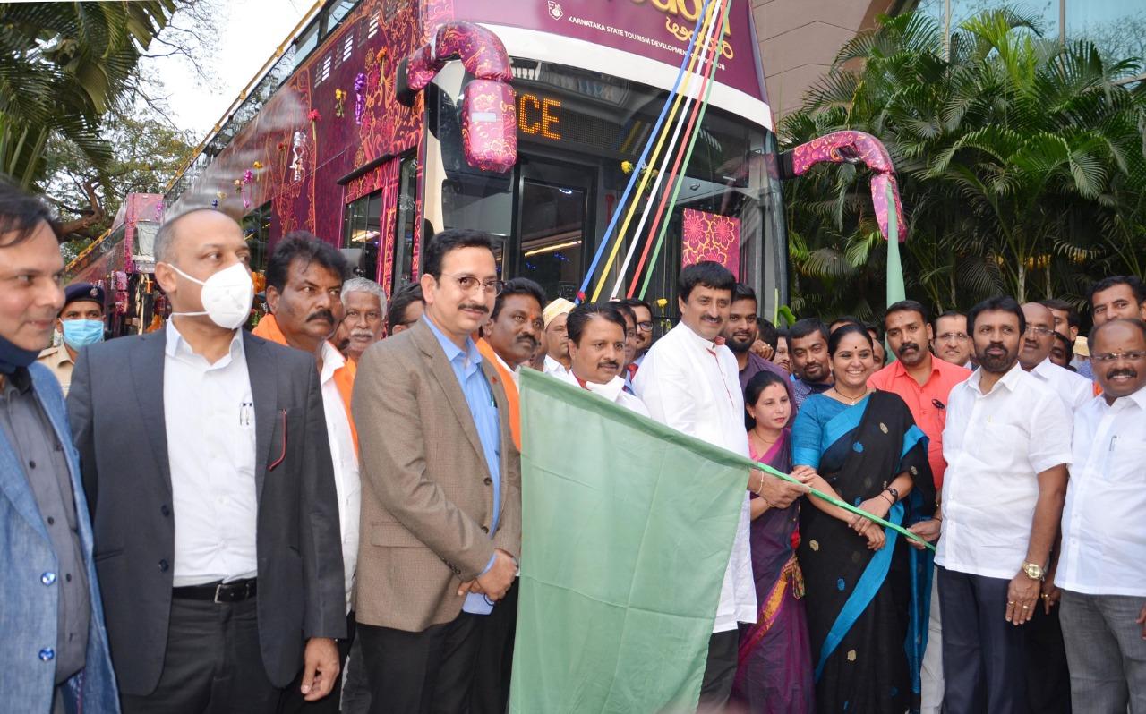 Double Decker Bus Inauguration